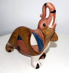 Moderne Figur  Elefant - modern art deco